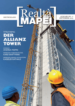 Realtà MAPEI Nr. 17 - Mapei International