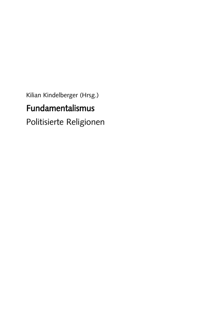 Die Ursprünge des protestantischen Fundamentalismus in den USA (German Edition)