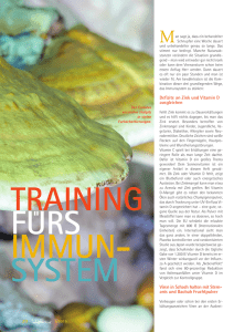 Training fürs Immunsystem