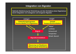 Integration von Signalen