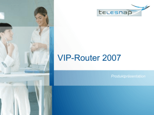 VIP-Router 2007