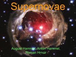 Entfernungsmessung Mit Supernovae : Supernovae typ ia seminar zur einführung in die astronomie am