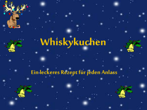 PowerPoint-Präsentation - whiskey