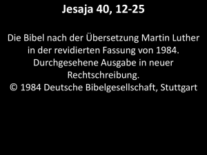 Jesaja40,12-25_Luther