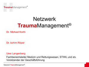 Leitbild - TraumaManagement