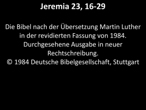 Jeremia23,16-29_Luther