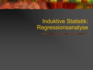 WLS-Regression