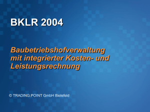 BKLR 2004 Demo mit Office