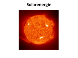 Solarenergie - WordPress.com
