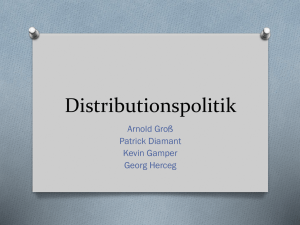 Distributionspolitik - hak