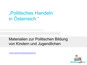 Powerpointfolien - DemokratieWEBstatt