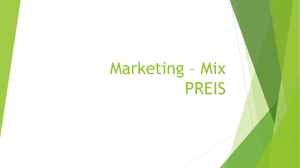 Marketing – Mix