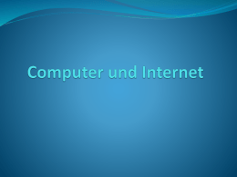 Computers und Internet
