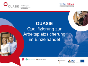 PowerPoint-Präsentation - Initiative weiter bilden