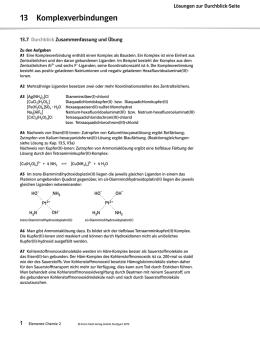 Wichtige Reaktionstypen der Organischen Chemie