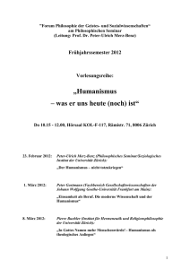 Vorl.-SS 00-Syllabus/Phil - Soziologisches Institut