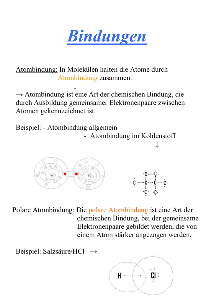 Bindungen - Goethe-Gymnasium Reichenbach