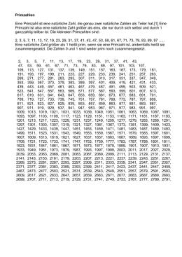 Zahlenlexikon Es ist genau so, als frage man, warum Beethovens