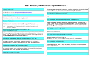 FAQ – Frequently Asked Questions: Säuren und Basen