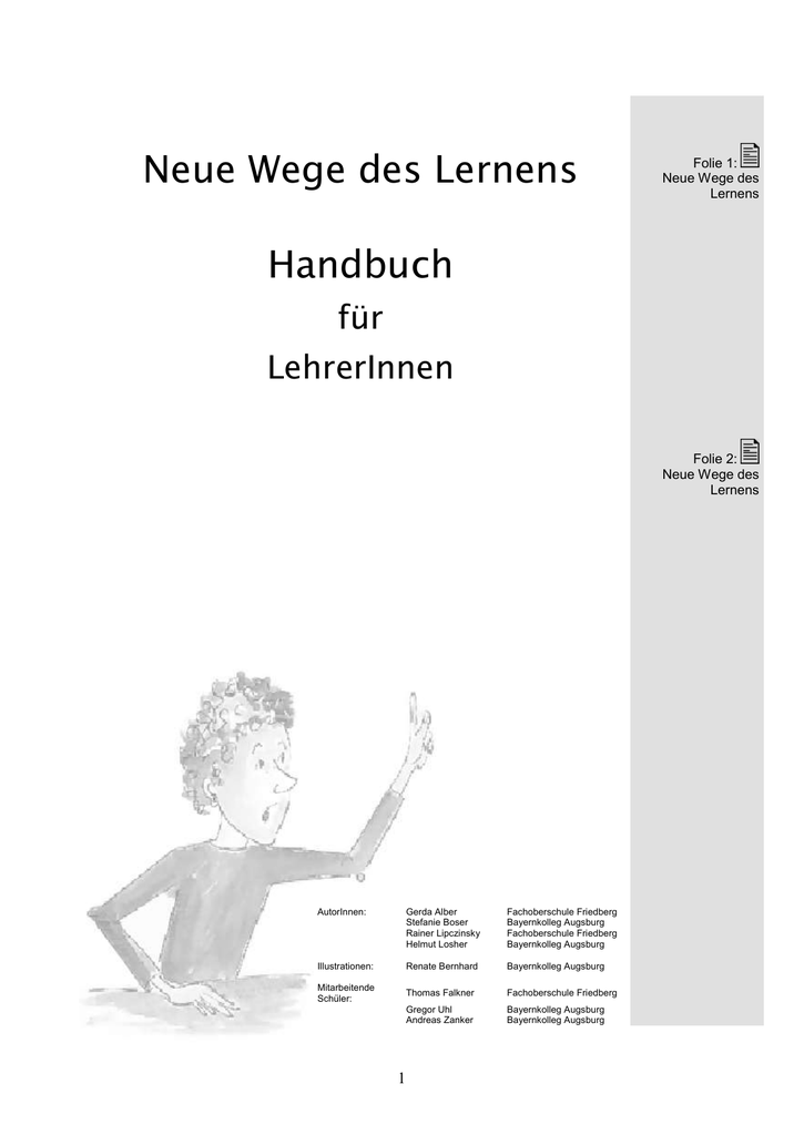 Neue Wege des Lernens - Bayernkolleg Augsburg