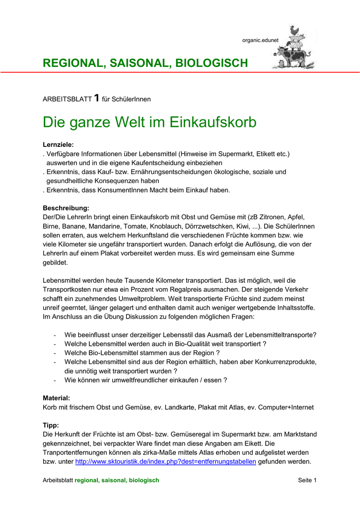 Ziemlich Lebensmittel Etiketten Arbeitsblatt Ideen - Super Lehrer ...