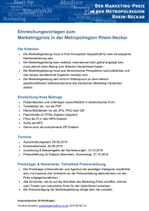 Einreichungsvorlagen (.doc) - Marketing-Club Rhein