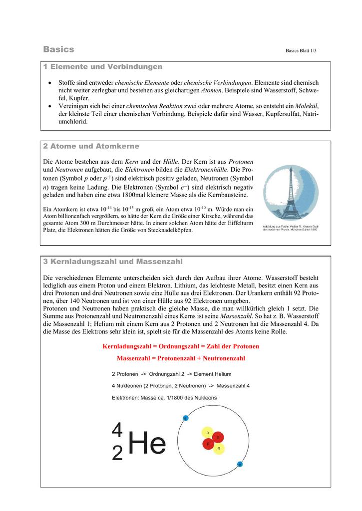 Trainingseinheit 1 Basics