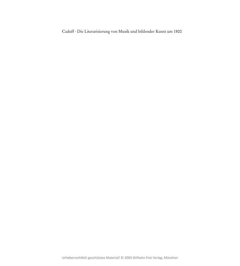 9d54032ef49e Die Literarisierung von Musik und bildender Kunst