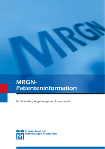 MRGN- Patienteninformation