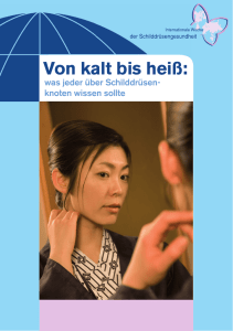 Von kalt bis heiß - International Thyroid Awareness Week
