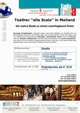 "Teather ""alla Scala"" in Mailand"