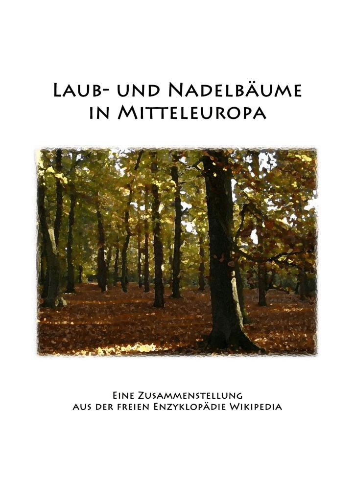 Laub Und Nadelbaume Mitteleuropas