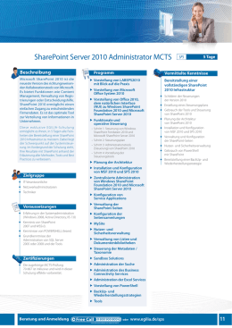 sharePoint server 2010 administrator mCts SPS