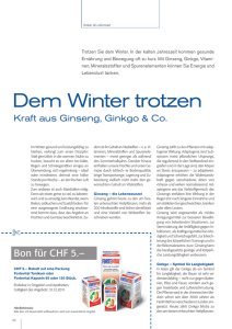 Dem Winter trotzen
