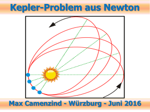 Kepler-Problem im Kontext