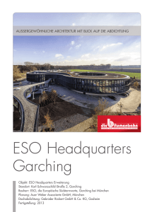 ESO Headquarters Garching