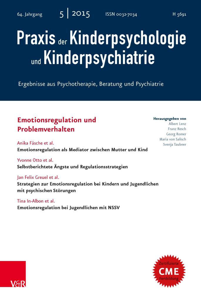 Emotionsregulation bei Kindern im Kindergartenalter (German Edition)