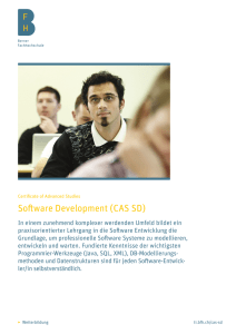 Software Development (CAS SD) - BFH-TI