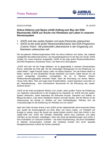 Press Release - Airbus Defence and Space