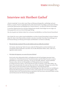 Interview mit Heribert Gathof