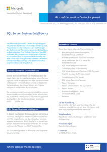 SQL Server Business Intelligence
