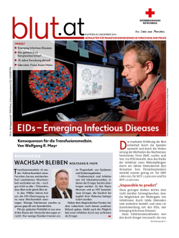 EIDs – Emerging Infectious Diseases