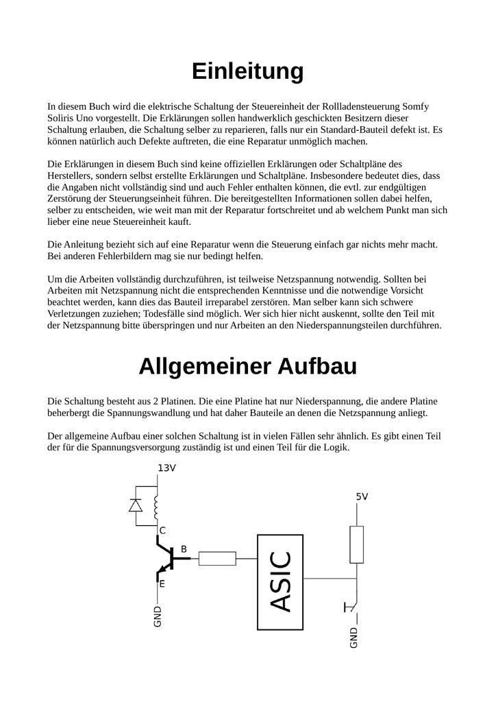 Fantastisch Neue Elektronische Schaltpläne Galerie - Elektrische ...
