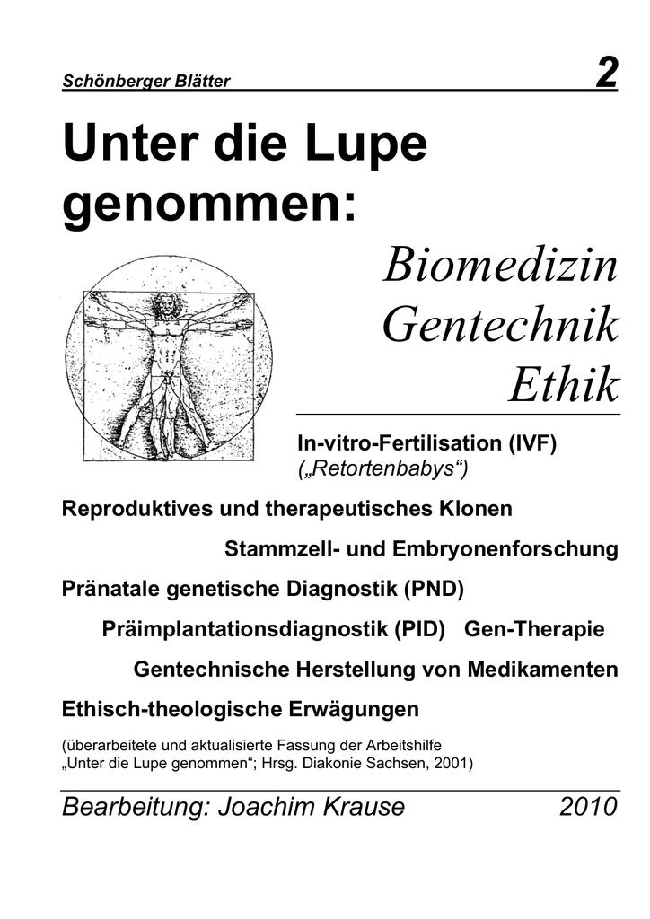 Veröffentlichungen Des Internationales F Fachbücher & Lernen Warnen Fortpflanzungsmedizin Und Lebensschutz Medizin