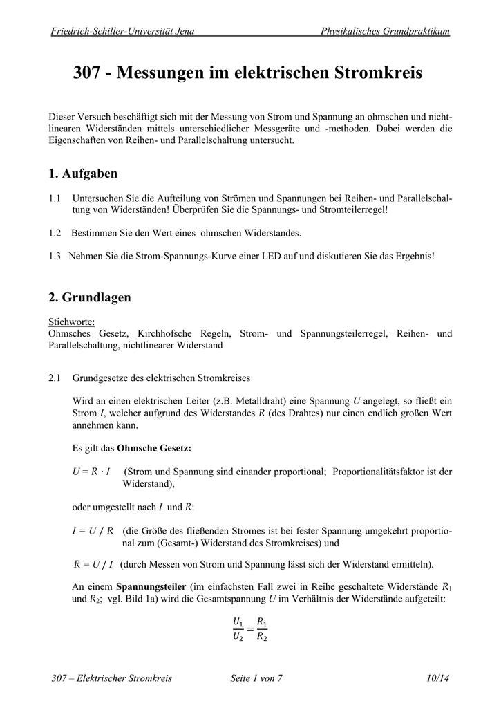 Tolle Verfolgen Elektrischer Stromkreise Zeitgenössisch - Die Besten ...