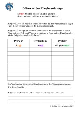 Einführung in die grammatische Beschreibung des Deutschen