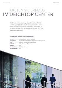 IM DEICHTOR CENTER