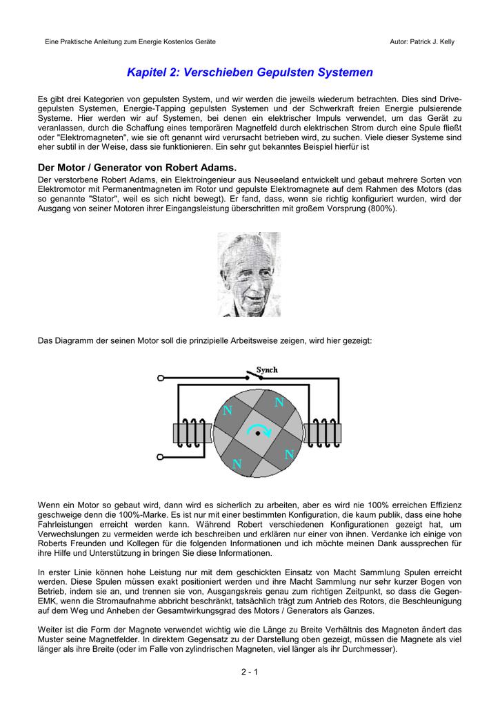 Direkte Gekoppelte Motoren - Free-Energy-Info