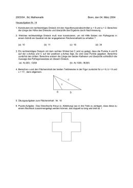 alle Aufgaben Geometrie 1 - mathe