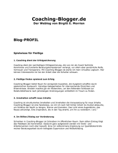 Coaching-Blogger.de
